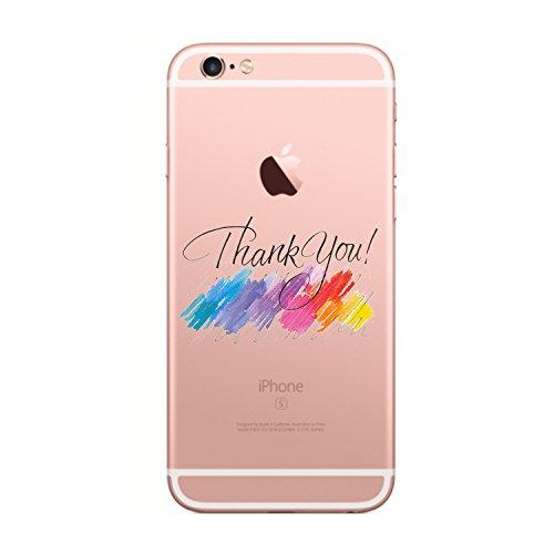 iPhone 6s Plus/iPhone 6 Plus Cover (5.5 pollici),Transparent Custodia Antiuroto Ultra Sottile Bumper Soft Morbido TPU Gel Silicone Protettiva Case per iPhone 6s/iPhone 6 Gel di silice1
