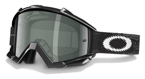 Oakley Proven MX Sand Goggle Jet Black/Grey & Clear