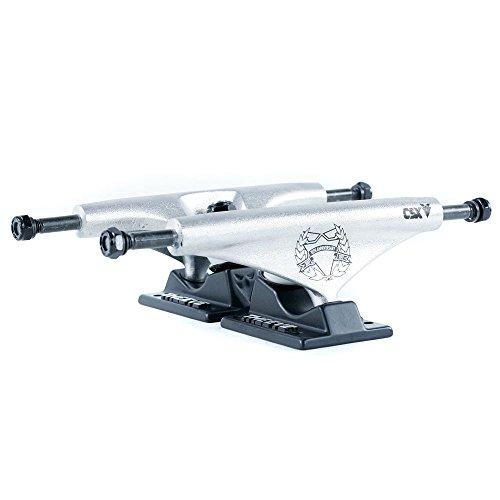 Theeve CSX Pro 10Jahre Skateboard Trucks Raw Schwarz 5,50