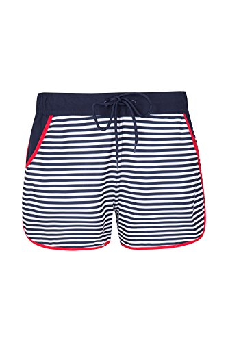 DAYU Damen Badehose Bikini Shorts UV Schutz Boardshorts Wassersport Schwimmen Bikinihose Badeshorts Schwimmshorts S-XL