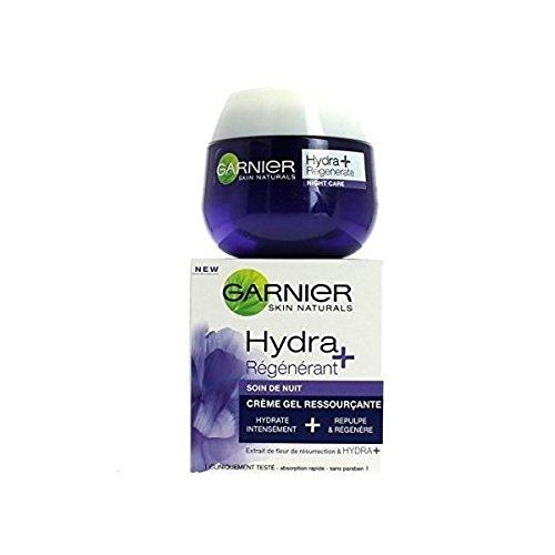 GARNIER - Crème Gel Visage - Soin de nuit Hydra + régénérant - 50ml (Visage Gesichtscreme)