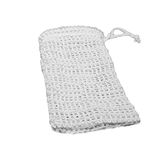 ounona 3Seife Saver natur Sack Seife Net Tasche für Badewanne und Dusche Verwenden (Net Soap-tasche)