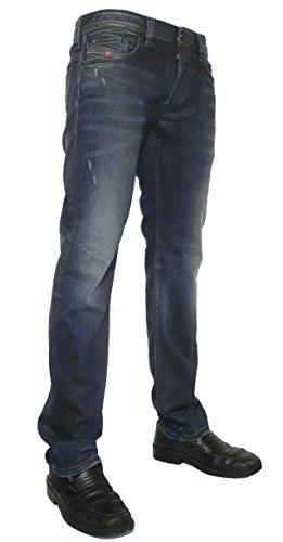 """'Diesel uomo Stretch Jeans Safado 0824q used look """" Blau 28W x 32L"""