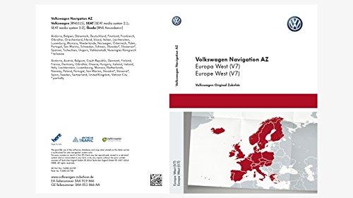Volkswagen Original Software West Europa 2015 V7 für RNS 315 Navigationssystem