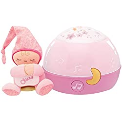 Chicco Lampe Magic'Projection First Dreams - Veilleuse - Rose