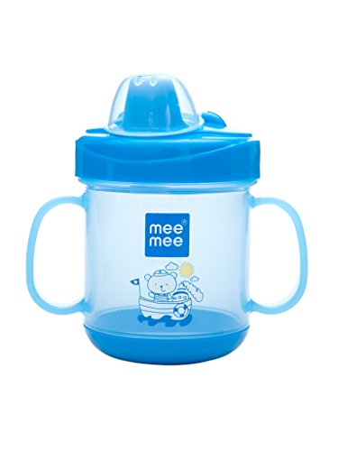 Mee Mee No Spill Sipper Cup (Blue)