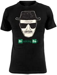Breaking Bad - T-Shirt Logo - Mr. White - Heisenberg - Noir