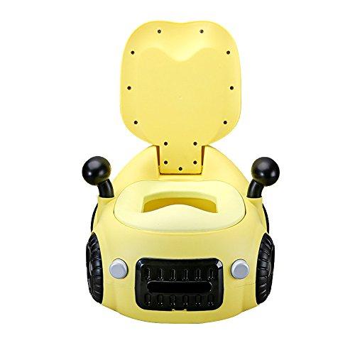 Baby-Töpfchen-Stuhl - Komfortables Ergonomisches Design, Schönes Auto-Styling, Präsentiert Als Kindergeschenk Für Kinder,Yellow1-39*46*45cm