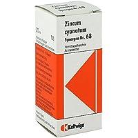 SYNERGON KOMPLEX 68 Zincum cyanatum Tropfen 20 ml preisvergleich bei billige-tabletten.eu