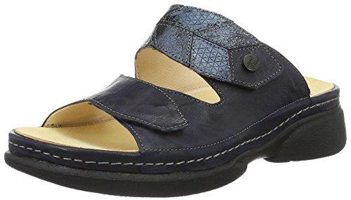 Think Damen Cambio Pantoletten, Blau (Navy/Kombi 88), 41 EU