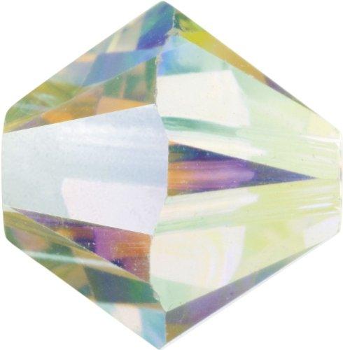 Original Swarovski Elements Beads 5328 MM 4,0 - Olivine (228) ; Diameter in mm: 4.0 ; Packing Unit: 1440 pcs. Crystal AB 2x (001 AB2)