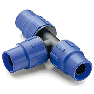 Abrisa 2871 Te Compression for Drip Irrigation Tube, 16 mm, 1 unit