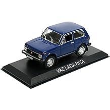 Générique VAZ Lada NIVA Bleu DIECAST Car 1:43 IXO Legendary ...