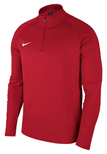 Nike Herren Dry Academy 18 Drill Longsleeve, University Red/Gym Red/White, L