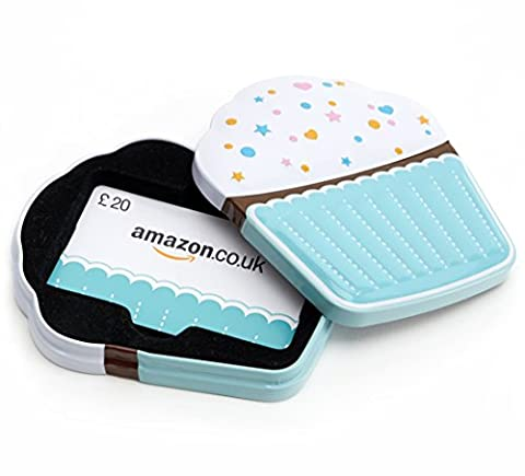 Amazon.co.uk Gift Card - In a Gift Box - £20 (Cupcake)