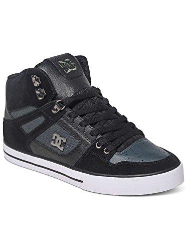 DC Herren Spartan High WC Hohe Sneaker Black/Dk Grey