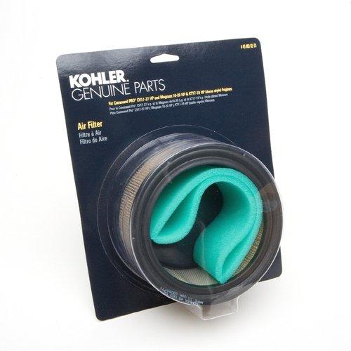 Kohler 47 883 01-S1 Motorluftfilter mit Vorreiniger-Kit für KT Serie Square Style, CH11-CH16, CH410-CH450 und Magnum M18-M20, für 18-20 PS Motoren -
