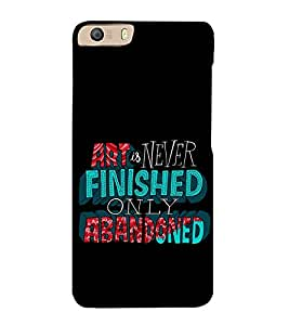 PrintVisa Nice Saying 3D Hard Polycarbonate Designer Back Case Cover for Micromax Canvas Knight 2 E471