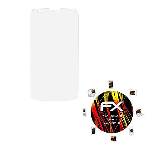 atFolix Schutzfolie kompatibel mit Yezz Andy 4EL2 LTE Bildschirmschutzfolie, HD-Entspiegelung FX Folie (3X)
