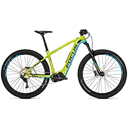 Focus E-Bike Bold² Plus 10,5 Ah 11 g 27 Pulgadas Diamante Green/Blue, Color Verde, tamaño 44 M