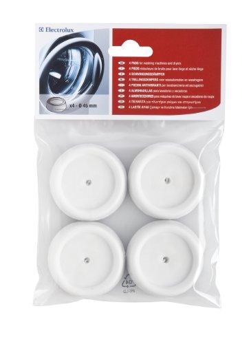 Electrolux 50291828007 - Piedini in gomma anti vibrazioni per lavatrice, confezione da 4 pezzi