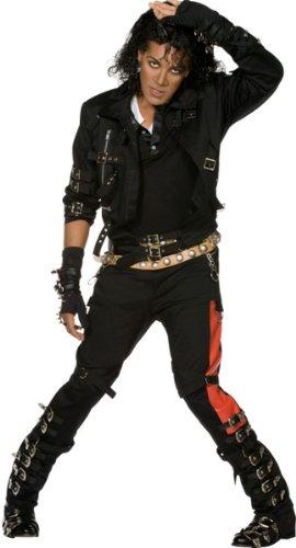 Michael Jackson™-Kostüm Deluxe für Herren - M (Jackson Michael Bad-kostüme)