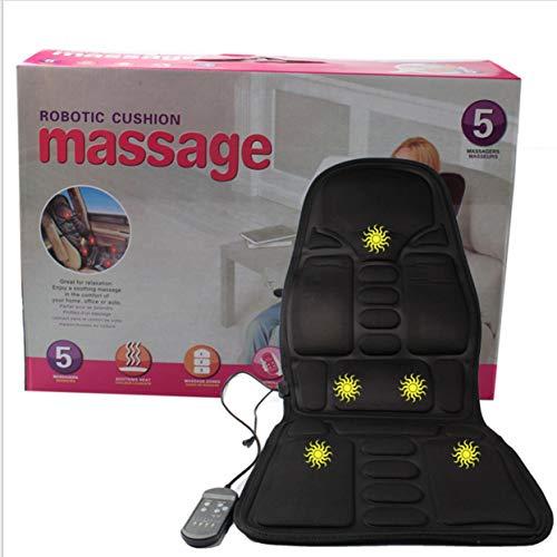 Tree-on-Life Massage Matratze Ganzkörper beheizte Massagematte Fernbedienung Kissen faltbar 60 110v Ac Power Adapter