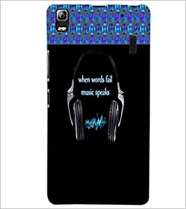 PrintDhaba Quote D-4248 Back Case Cover for LENOVO A7000 TURBO (Multi-Coloured)