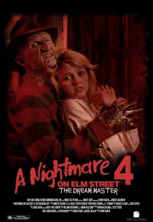 NIGHTMARE ON ELM STREET 4 - THE DREAM MASTER – Imported Movie Wall Poster Print – 30CM X 43CM Brand New FREDDY KRUEGER