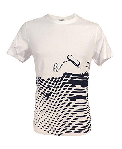 Paul Smith Herren T-Shirt Weiß Weiß