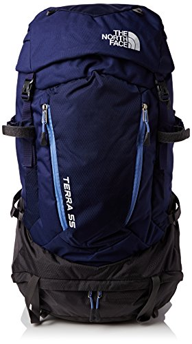 The North Face Damen Rucksack W Terra 55, Patriot Blue/Persian Jewel, 69 x 31 x 31 cm, 56 Liter, 0706421944755