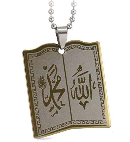 (2) Schutz rund Ayatul Kursi Halskette Geschenk Eid Ayat al Kursi Muhammad dieses Fest Islamisches Opferfest Ramadan Haddsch ʿumra Day Of arafah Eid al-ghadeer