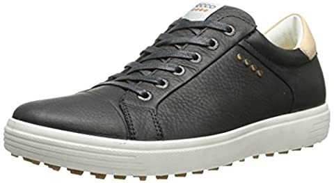 ECCO , Chaussures de Golf homme, MEN'S GOLF CASUAL HYBRID, Negro (BLACK1001), 43