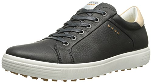 ECCO , Chaussures de Golf homme, MEN'S GOLF CASUAL HYBRID, Negro (BLACK1001), 45