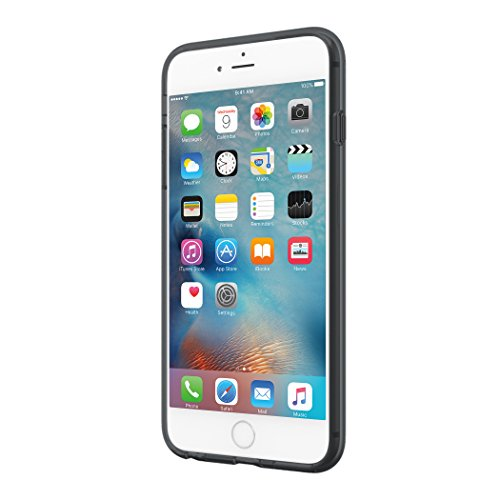 Incipio Octane Pure Case für Apple iPhone 6 / 6S [getestet nach Militärstandard | Integrierter Bumper | Transparent | Hybrid] - IPH-1348-CBLK-INTL Schwarz/Transparent