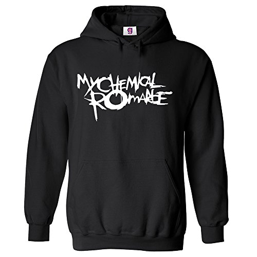 Graphic Impact Inspired My Chemical Romance Rock King Music Band Unisex Printed Pullover Hoodie