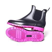 Meduse Jumpy Chelsea Boots PVC Black
