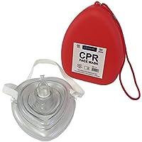 Qualicare Máscara de reanimación PCR reutilizable para primeros auxilios