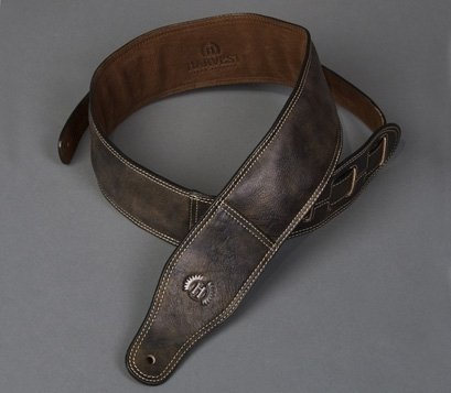 Harvest Fine LeatherGuitar Strap Cow Antique 31