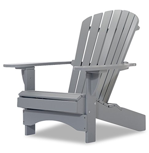 Original Dream-Chairs since 2007 Adirondack Chair Comfort de Luxe in grau