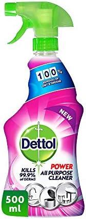 ديتول هيلثي كيتشن منظف متعدد الاستخدام 4 في 1 برائحة الورد , 500 مل