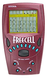 Handheld FreeCell Solitaire Game - 8019 by Radica