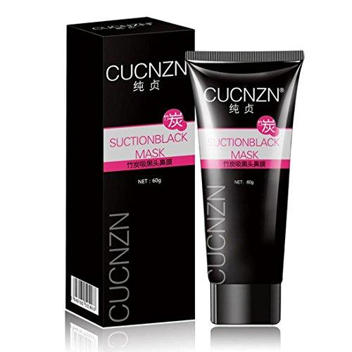 Coolster Haut Aktivierte Carbon Gesichtsmaske Creme: Blackhead Remover Akne Reiniger Reinigung Deep Cleansing Peel Mask für alle Hauttypen (Haare Ab Gesichts-haar-remover)