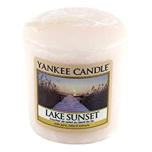 Yankee candle - 1270620E - Bougie Votive senteur Coucher de Soleil au Bord du Lac Sunset Lake