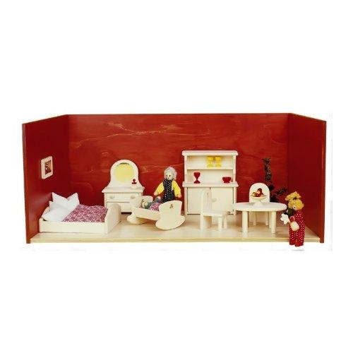 Rlke Holzspielzeug 23103 - Camera delle bambole