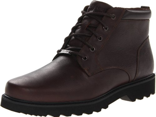 Rockport Northfield - Homme uni orteil Bottes Chocolate Waterproof