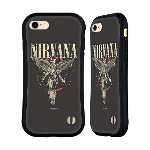 Head Case Designs Ufficiale Nirvana Band in Utero Arte Cover Ibrida Compatibile con iPhone 7 / iPhone 8