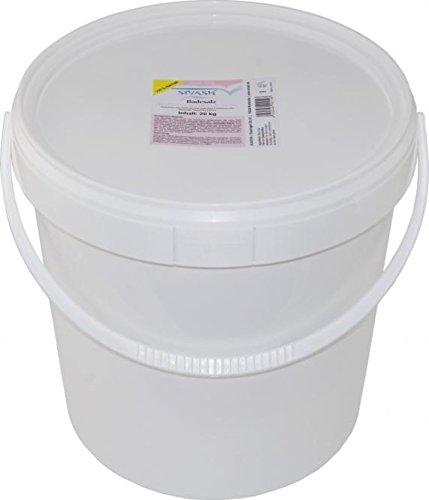 Badesalz Farbe (Meersalz - SIVASH-Badesalz, 20 kg (40 Bäder). Unraffiniert, naturbelassen, mild. Rosa Farbe dank Beta-Carotin aus der Mikroalge Dunaliella Salina. Schönes Badevergnügen auch bei Neurodermitis, Psoriasis, Rheuma)