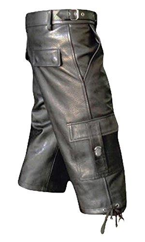 Leather Addicts -  Pantaloncini  - Uomo Black
