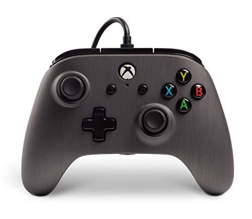 PowerA Enhanced Wired Controller Brushed Gunmetal Gamepad